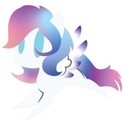 Size: 894x894 | Tagged: artist:showtimeandcoal, chibi, commission, cute, icon, oc, oc:lumi, oc only, pegasus, pony, safe, simple background, solo, transparent background, ych result, your character here