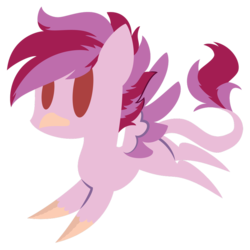 Size: 894x894 | Tagged: artist:showtimeandcoal, burb, chibi, commission, cute, hippogriff, icon, oc, oc:cayde, oc only, safe, simple background, solo, transparent background, ych result, your character here