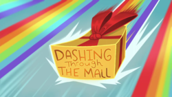 Size: 1920x1080 | Tagged: dashing through the mall, equestria girls, equestria girls series, holidays unwrapped, safe, spoiler:eqg series (season 2), title card