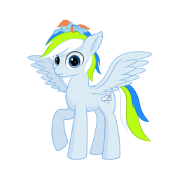 Size: 2300x2300 | Tagged: 2020 community collab, artist:emeraldgalaxy, derpibooru community collaboration, female, male, mare, oc, oc:morning star, oc:rain bow, pegasus, plushie, safe, solo, stallion