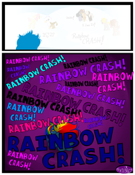 Size: 3500x4500   Tagged: safe, artist:becauseimpink, dumbbell, fluttershy, hoops, quarterback, rainbow dash, pegasus, pony, comic:transition, butterscotch, comic, dialogue, dumb belle, female, filly, filly rainbow dash, guilder, rule 63, transgender, younger