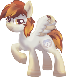 Size: 2378x2784 | Tagged: safe, artist:amura-of-jupiter, oc, oc only, oc:amura, pegasus, pony, 2020 community collab, derpibooru community collaboration, female, looking at you, pen, simple background, solo, tablet pen, transparent background, wing hands, wing hold, wings