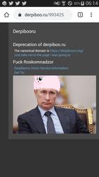 Size: 720x1280 | Tagged: safe, oc, oc:fluffle puff, derpibooru, meta, pony hat, russia, vladimir putin