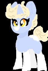 Size: 400x592   Tagged: safe, artist:nootaz, oc, oc:nootaz, pony, horn, simple background, transparent background, unicorn oc