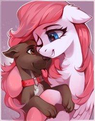 Size: 1614x2048   Tagged: safe, artist:share dast, oc, dog, pegasus, pony, solo
