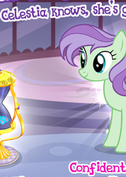Size: 293x411 | Tagged: safe, violet twirl, pegasus, pony, cropped, friendship student, gameloft, meme, sands of time, solo, wow! glimmer