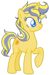 Size: 683x1046 | Tagged: safe, artist:otakuchicky1, oc, oc:solana, pony, unicorn, base used, female, mare, offspring, parent:flash sentry, parent:sunset shimmer, parents:flashimmer, simple background, solo, transparent background