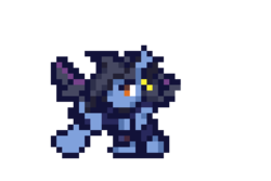 Size: 480x320   Tagged: safe, artist:k_clematis, oc, oc only, pony, armor, ear piercing, earring, jewelry, piercing, pixel art, simple background, solo, transparent background