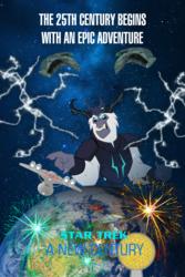 Size: 1000x1500 | Tagged: safe, artist:jrshinkansenhorse, storm king, sunset shimmer, my little pony: the movie, crossover, d'deridex-class, earth, fireworks, lightning, romulan, romulan warbird, space, spacedock, star trek, star trek xiii: a new century, times square ball, uss sunset shimmer
