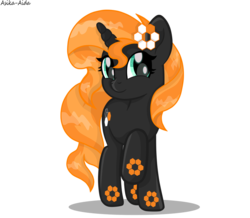 Size: 958x834 | Tagged: safe, artist:ggalleonalliance, oc, oc only, oc:carbon 6, object pony, original species, pony, unicorn, element pony, movie accurate, not sunset shimmer, ponified, simple background, solo, transparent background