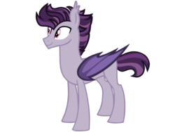 Size: 4500x3375 | Tagged: artist:avatarmicheru, bat pony, hybrid, interspecies offspring, male, oc, oc:spectacle, offspring, parent:discord, parents:discolight, parent:twilight sparkle, pony, safe, simple background, solo, stallion, transparent background