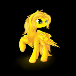 Size: 1000x1000 | Tagged: safe, artist:sa-loony, oc, oc only, pony, pencil, simple background, solo