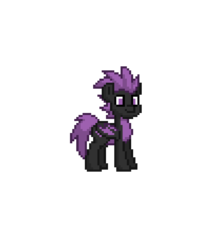 Size: 777x874 | Tagged: safe, oc, oc:steel crescent, dracony, dragon, hybrid, pony, pony town, male, simple background, solo, transparent background