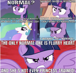 Size: 647x622 | Tagged: safe, edit, edited screencap, editor:undeadponysoldier, screencap, princess celestia, twilight sparkle, alicorn, pony, unicorn, twilight's kingdom, angry, comic, female, helen parr, implied flurry heart, mare, mom, momlestia, normal, reference, screencap comic, the incredibles, twilight sparkle (alicorn), unicorn twilight, violet parr
