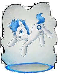 Size: 3871x4984 | Tagged: safe, artist:lightning-stars, pony, robot, robot pony, absurd resolution, atlas, ponified, portal, portal (valve), solo