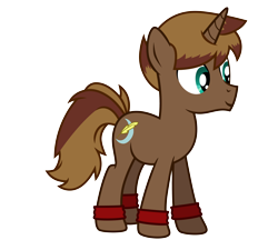 Size: 5000x4500 | Tagged: safe, artist:northernthestar, oc, oc:brown moon, pony, unicorn, absurd resolution, male, simple background, solo, stallion, transparent background