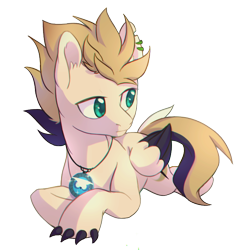 Size: 700x703 | Tagged: safe, artist:lightning-stars, oc, oc only, oc:rayan, claws, simple background, solo, transparent background