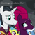 Size: 258x259 | Tagged: safe, edit, edited screencap, screencap, chancellor neighsay, lemon hearts, pokey pierce, tempest shadow, pony, my little pony: the movie, the ending of the end, spoiler:s09e24, spoiler:s09e25, asking, broken horn, caption, chat, close-up, cropped, dating, horn, i ship it, just kiss already, looking at each other, meme, ponies standing next to each other, scar, tempest neighsay