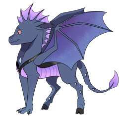 Size: 3206x3000 | Tagged: safe, artist:venommocity, oc, hybrid, dragonling, interspecies offspring, male, offspring, parent:princess ember, parent:thorax, parents:embrax, simple background, solo, transparent background