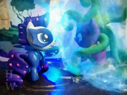 Size: 3968x2976 | Tagged: safe, artist:hu乘云, mane-iac, rarity, ice, magic, power ponies