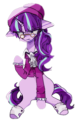 Size: 547x855 | Tagged: safe, artist:t-0-rtured, snowfall frost, starlight glimmer, female, hearth's warming, hearthswarming