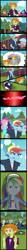 Size: 2953x27756 | Tagged: safe, artist:urhangrzerg, adagio dazzle, derpy hooves, fluttershy, rainbow dash, sunset shimmer, wallflower blush, equestria girls, spoiler:eqg series, spoiler:eqg series (season 2), allegro amoroso, comic, equestria guys, male, rainbow blitz, rule 63, self paradox