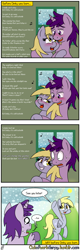 Size: 1280x4000 | Tagged: safe, artist:outofworkderpy, derpy hooves, pegasus, pony, comic:out of work derpy, blushing, brony, christmas, comic, female, funny, hearth's warming eve, holiday, innuendo, mare, outofworkderpy, sweat