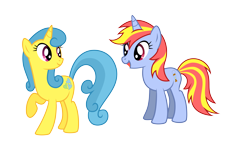 Size: 8000x5000 | Tagged: safe, artist:northernthestar, lemon hearts, oc, oc:dawn flame, pony, unicorn, absurd resolution, female, mare, simple background, transparent background