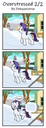 Size: 1280x3561 | Tagged: safe, artist:dinkyuniverse, alula, aura (character), bloo, dinky hooves, lily longsocks, noi, pluto, rarity, earth pony, pegasus, pony, unicorn, comic, excitement, female, filly, foal, food, friendship, happy hearth's warming, karma, linkelina, mare, perfect aim, pie, playing, revenge, snow, snowball, snowball fight, strong, throwing, throwing snowballs