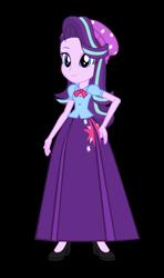 Size: 550x930 | Tagged: safe, alternate version, artist:cartoonmasterv3, starlight glimmer, human, equestria girls, clothes, long skirt, skirt, solo