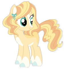 Size: 420x421   Tagged: safe, artist:rosebuddity, oc, earth pony, pony, base used, female, magical lesbian spawn, mare, offspring, parent:applejack, parent:pinkie pie, parents:applepie, simple background, solo, transparent background