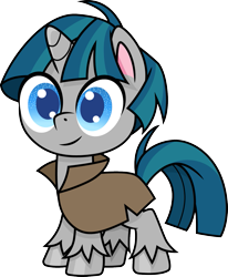 Size: 811x986 | Tagged: safe, artist:cloudyglow, stygian, pony, unicorn, my little pony: pony life, cute, looking at you, male, simple background, solo, stallion, stygianbetes, transparent background