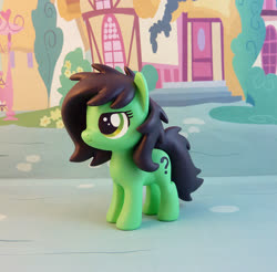 Size: 865x850 | Tagged: safe, artist:krowzivitch, oc, oc:filly anon, pony, craft, female, figurine, filly, irl, photo, sculpture, solo