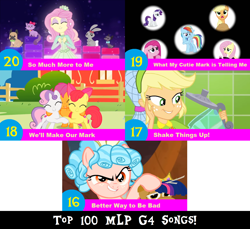 Size: 1704x1560 | Tagged: safe, artist:don2602, edit, edited screencap, screencap, apple bloom, applejack, cozy glow, fluttershy, pinkie pie, rainbow dash, rarity, scootaloo, sweetie belle, twilight sparkle, alicorn, earth pony, pegasus, pony, unicorn, crusaders of the lost mark, equestria girls, frenemies (episode), magical mystery cure, shake things up!, so much more to me, spoiler:eqg series, spoiler:eqg summertime shorts, spoiler:s09e08, better way to be bad, blender (object), clothes, cutie mark crusaders, dress, hair net, hugging each other, multiple characters, pets, plushie, top 100 mlp g4 songs, twilight sparkle (alicorn), we'll make our mark, what my cutie mark is telling me