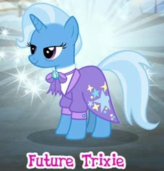 Size: 451x472 | Tagged: safe, trixie, the last problem, spoiler:s09e26, gameloft, older, older trixie, solo