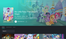 Size: 1680x1001 | Tagged: safe, screencap, applejack, cozy glow, fluttershy, grogar, king sombra, lord tirek, pinkie pie, princess cadance, princess celestia, princess luna, queen chrysalis, rainbow dash, rarity, shining armor, silverstream, spike, twilight sparkle, yona, alicorn, earth pony, hippogriff, pegasus, pony, unicorn, yak, season 9, sparkle's seven, the beginning of the end, uprooted, spoiler:s09e01, spoiler:s09e02, spoiler:s09e03, spoiler:s09e04, clothes, costume, dangerous mission outfit, detective rarity, goggles, hoodie, hulu, mane seven, mane six, twilight sparkle (alicorn)