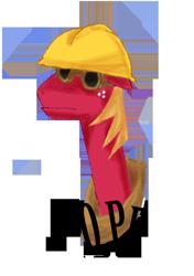Size: 900x1279 | Tagged: safe, big macintosh, earth pony, pony, cap, engineer, glasses, hat, male, meme, nope, stallion, team fortress 2