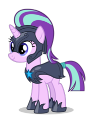 Size: 3000x4000   Tagged: artist needed, source needed, safe, starlight glimmer, pony, unicorn, alternate hairstyle, armor, female, guardsmare, hoof shoes, mare, royal guard, simple background, smiling, solo, transparent background, vector