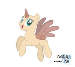 Size: 4000x3585 | Tagged: safe, artist:doraair, oc, oc only, alicorn, pony, alicorn oc, base, flying, simple background, smiling, solo, transparent background