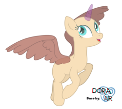 Size: 4000x3590 | Tagged: safe, artist:doraair, oc, oc only, alicorn, pony, alicorn oc, base, looking up, open mouth, rearing, simple background, solo, spread wings, transparent background, wings