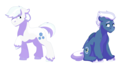 Size: 1280x640 | Tagged: safe, artist:itstechtock, double diamond, night glider, pony, simple background, transparent background