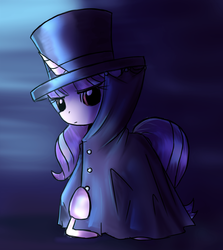 Size: 1754x1962 | Tagged: artist:nika191319, cape, clothes, coat, crossover, hat, pony, safe, solo, starlight glimmer, top hat, unicorn