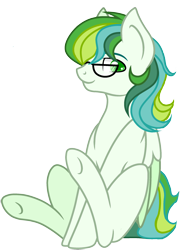 Size: 2000x2690   Tagged: artist needed, safe, artist:ciaran, edit, oc, oc only, oc:shell watch, pegasus, pony, 2020 community collab, derpibooru community collaboration, glasses, male, simple background, sitting, solo, transparent background