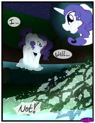 Size: 3500x4500 | Tagged: angry, artist:becauseimpink, comic, comic:transition, dialogue, elusive, gritted teeth, male, pony, rarity, rule 63, safe, stallion, transgender, unicorn