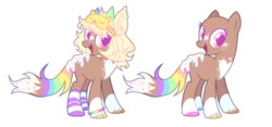 Size: 1024x480 | Tagged: safe, artist:chococolte, oc, original species, pony, bald, base used, female, mare, simple background, solo, transparent background