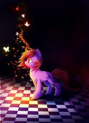 Size: 1024x1418 | Tagged: safe, artist:aquagalaxy, oc, oc:dawnfire, pony, unicorn, female, mare, solo