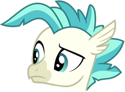 Size: 1393x1030 | Tagged: safe, artist:sketchmcreations, edit, terramar, hippogriff, student counsel, spoiler:s09e11, cropped, discord (program), emoji, male, simple background, solo, transparent background, vector