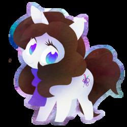 Size: 894x894   Tagged: safe, artist:dawnfire, oc, pony, unicorn, chibi, solo