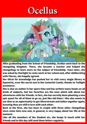 Size: 1653x2339 | Tagged: card, changeling, future, gallus, ocellus, safe, sandbar, silverstream, smolder, solo, spoiler:s09e26, student six, teacher, the last problem, yona