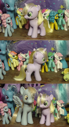 Size: 961x1774 | Tagged: artist:lonewolf3878, custom, derpy hooves, dinky hooves, female, foal, irl, photo, pony, safe, toy, unicorn